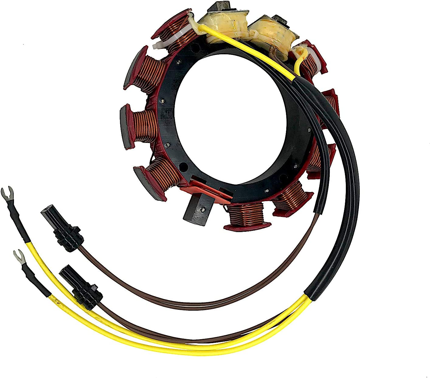 JETUNIT Outboard Stator 6Cyl 即出荷 安心の定価販売 35Amp For Johnson Evinrude 150-175H