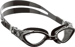 Cressi Fox - Occhialini da Nuoto con Lenti Piane - Anti Fog, AntiGraffio, Anti UV