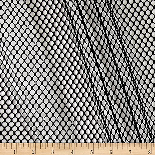1a70e01b31a2 Amazon.com  Carr Textile Air Mesh Black Fabric by The Yard