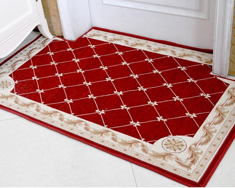 Floor Mat Doormat Indoor Mats Simple Modern,Household Use,Water Absorption and Anti-skidding Mat Indoor Mat Hall,Doormat-B 140x140cm(55x55inch)
