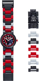 Reloj infantil con Figurita de Darth Vader de La Guerra de las Galaxias 8020417| Negro/rojo plastico | 19 cm de Altura Chico Chica | Oficial
