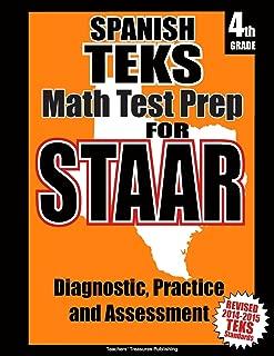 Spanish TEKS 4th Grade Math Test Prep for STAAR