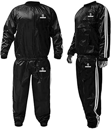 MFFACAI Sauna Sweat Hommes N/éopr/ène Gilet de Sudation Minceur T-Shirt Zipp/é sans Manche Perdre du Poids V/êtement de Compression Bleu Noir,S-4XL