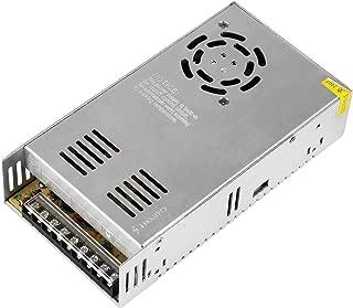 NEWSTYLE 15A 24V DC 直流電源変換器 過負荷過電圧遮断可能 自動リセット可能 放熱ファン付き 安全保護装置 コンピュータ/3Dプリンタ AC-DCコンバーター100V→24V