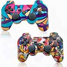 Sponsored Ad - PS3 Wireless Controllers, PS3 Game Controller 2Pack, Bluetooth Gamepad Gaming, Wired Joypad Compatible with...