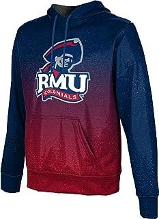 Robert Morris University Men's Pullover Hoodie, School Spirit Sweatshirt (Ombre)