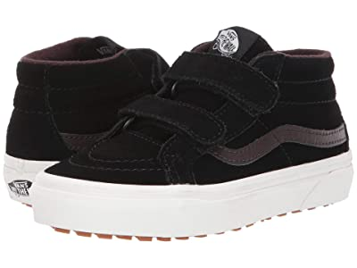 Vans Kids SK8-Mid Reissue V MTE (Little Kid/Big Kid) ((MTE) Black/Chocolate Torte) Boys Shoes