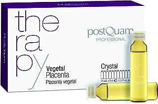 Postquam - Therapy | Placenta Vegetal Postquam Crystal para Combatir la Caida de Pelo - 12 Ampollas x 9 ml