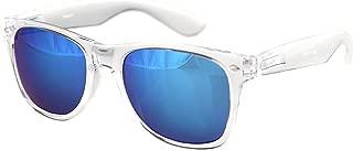 Sunglasses Classic Clear Frame Horn Rimmed Eyewear Classic Retro 80's
