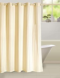 Swayam Shower Curtain, Off White, 180 x 200 cm