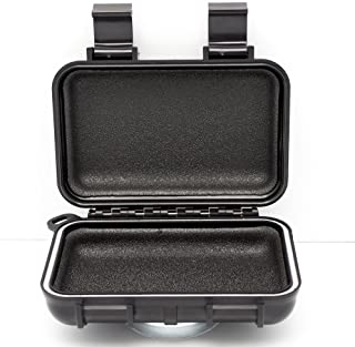 Car GPS Tracker Case By GERO - Weatherproof Mini Portable Waterproof Case Stash Box With Magnetic Mount for Under Car - Protect Your GPS Tracking System, Hide a Key, Jewelry, Money, and More! - Small