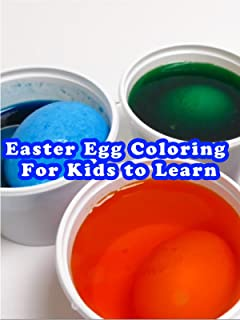 Easter Egg Coloring For Kids to Learn