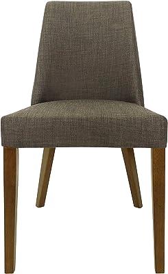 Shack Hamilton Dining Chair with Honey Leg, Mocha