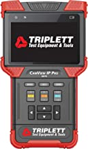 Triplett CamView IP Pro Rugged IP and Analog NTSC/PAL Camera Tester with Built-in DHCP Server (8070)