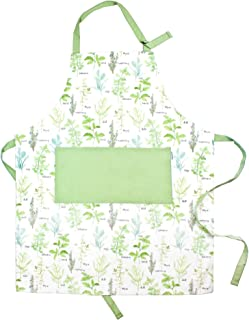 Sage and Stitch Adjustable Neck Cooking Apron for Women 27'' x 33'' Machine Washable with 2 Pockets for Chef BBQ Baking - ...