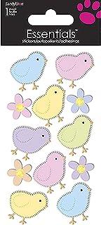 Sandylion Chicks and Flowers Essentials Sticker, Large