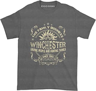 The Family Business Winchester Saving People and Hunting Things T-Shirt