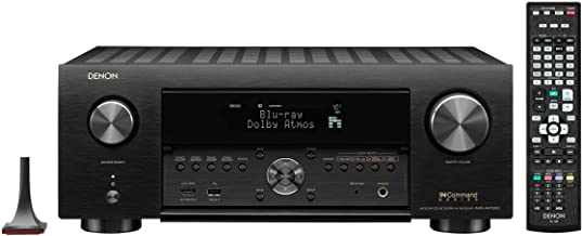 Denon AVR-X4700H 8K Ultra HD 9.2 Channel (125 Watt X 9) AV Receiver 2020 Model - 3D Audio & Video with IMAX Enhanced, Built for Gaming, Music Streaming, Alexa + HEOS