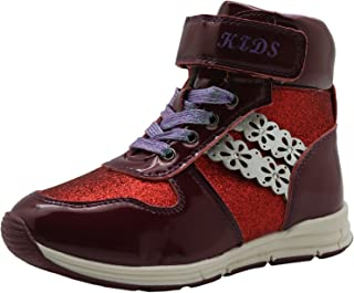 Ying-xinguang Kid's Shoe Casual Autumn Kid's Girl's Shoes Fashion Ankle Boots (Toddler/Little Kid) Comfortable