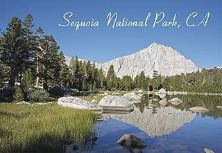 Sequoia National Park, Muir Lake, California, CA, Mountain, Lake, Souvenir Magnet 2 x 3 Fridge Magnet