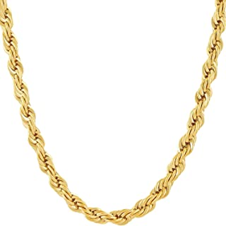 Best black friday gold rope chain Reviews