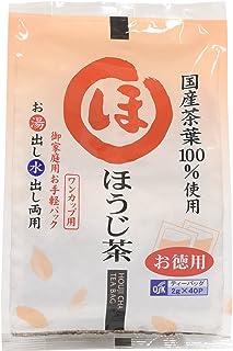 ワンカップ用 用 徳用ほうじ茶(2g*40袋入) 株式会社小谷穀粉