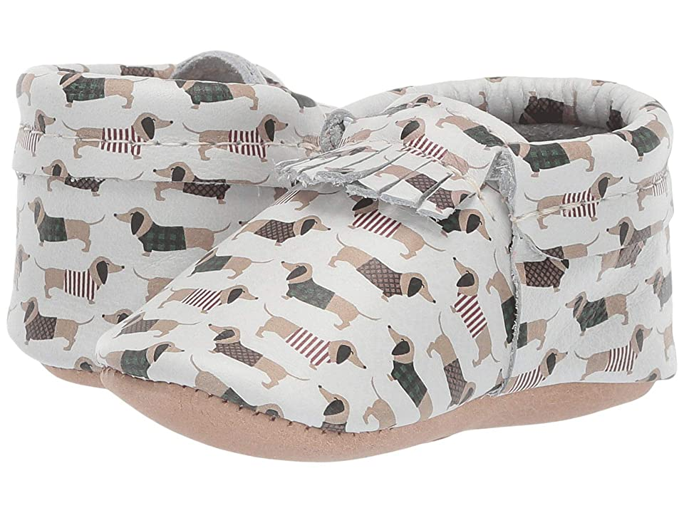 Freshly Picked Soft Sole City Moccasins Classy Gents (Infant/Toddler) (Chilly Dogs) Boys Shoes