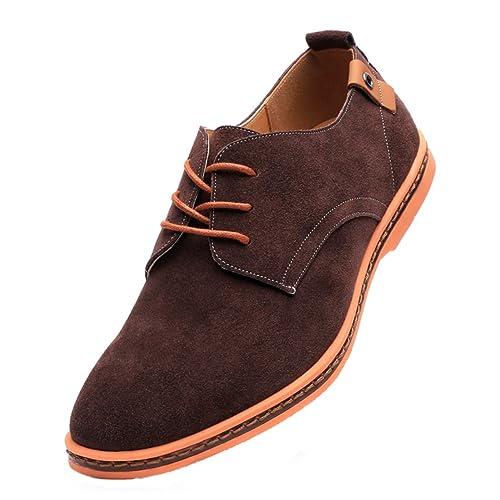 af593619f18cc Men's Brown Suede Shoes: Amazon.co.uk