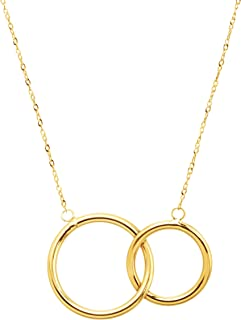 Best eternity gold necklace Reviews