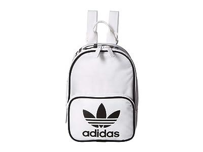 adidas Originals Originals Santiago Mini Backpack (White/Black) Backpack Bags