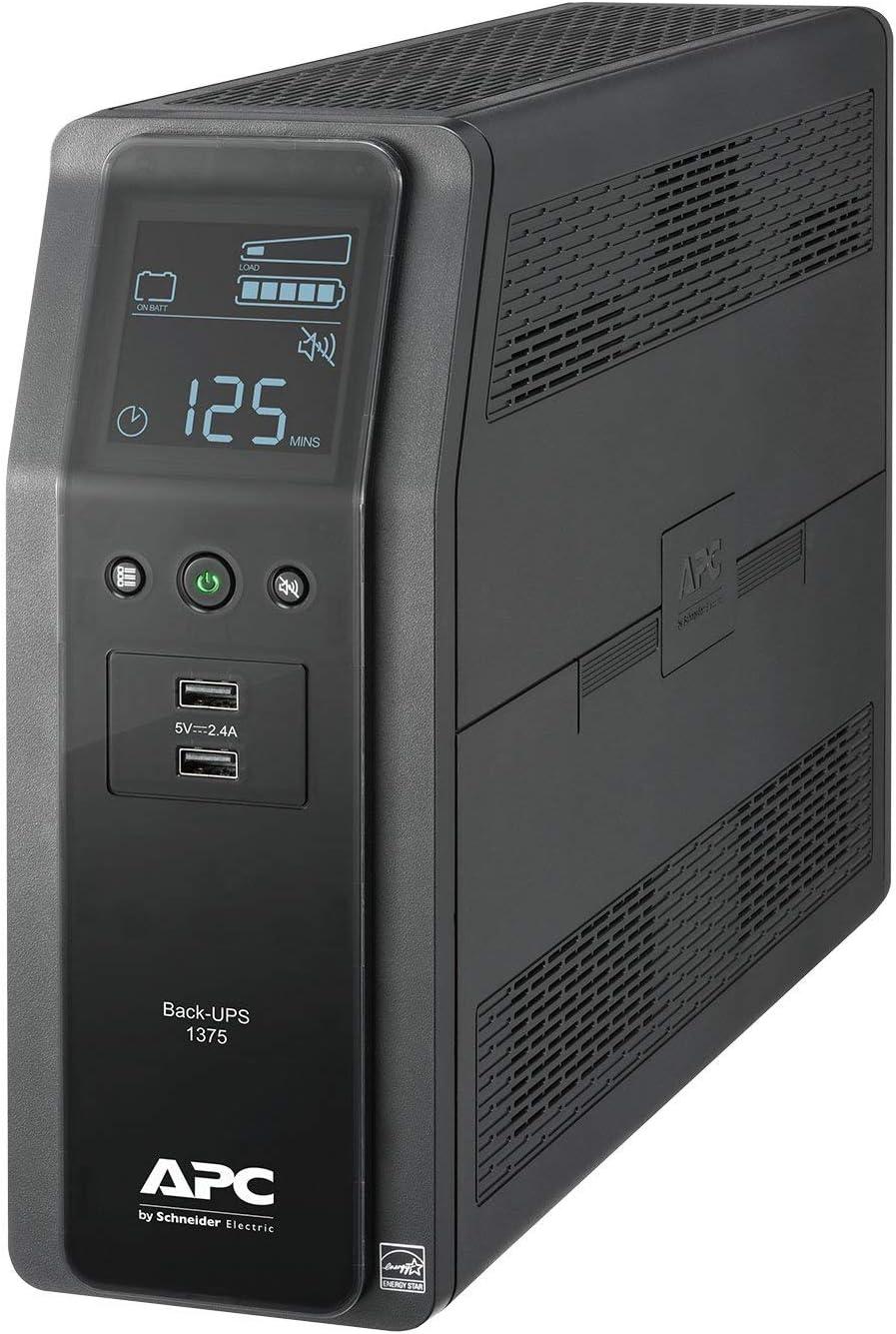APC Back-UPS Pro Tower 1375VA 10 Outlet 2 USB BN1375M2