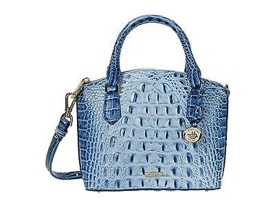 Brahmin Ombre Melbourne Duxie Crossbody (Poolside) Handbags