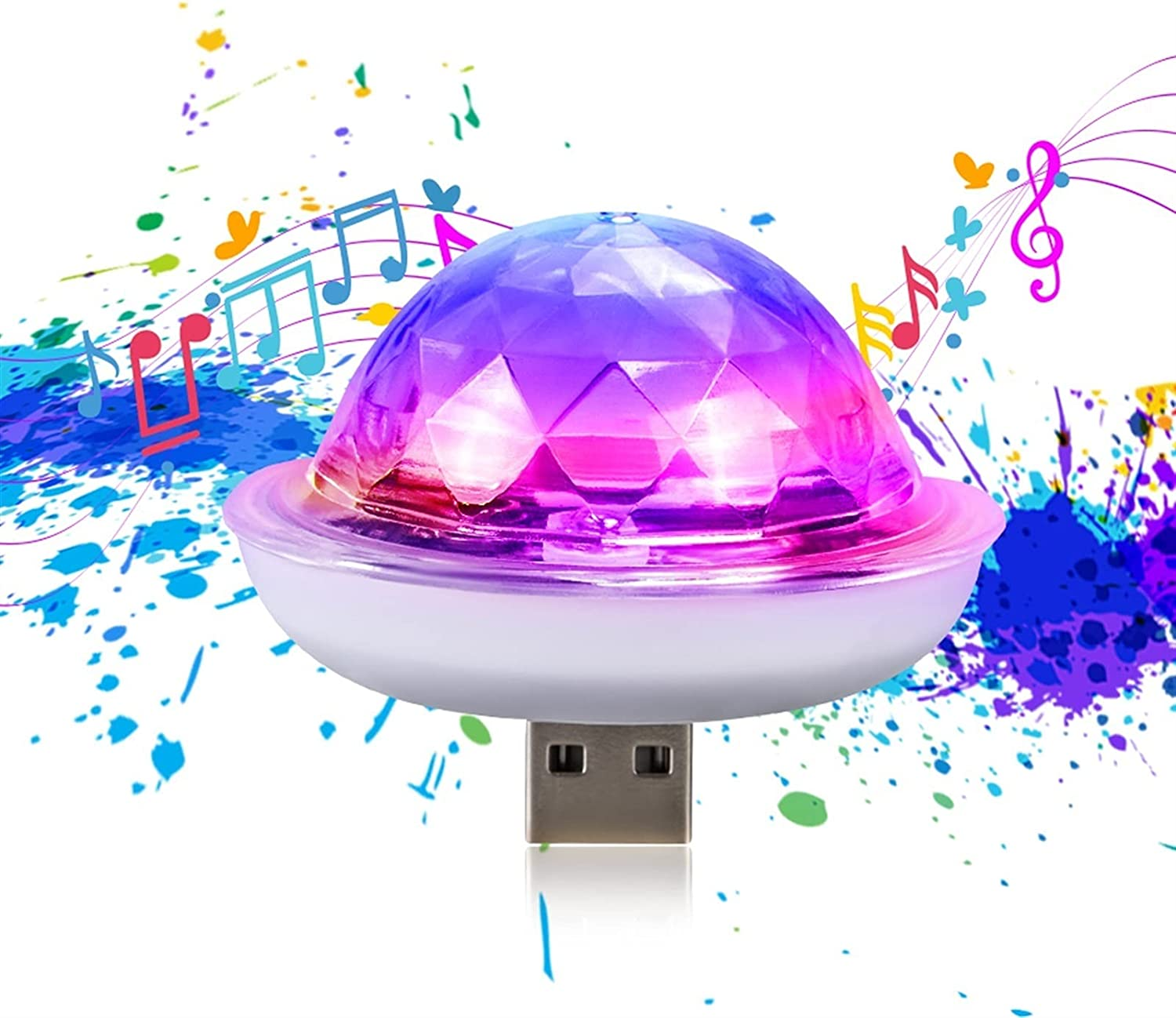 USB Disco Ball Light Prom Party Portable Ligh Strobe Price reduction Translated