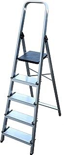 Arcama EA05 Escalera domestica, GRIS PLATA, 12 cm