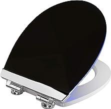 Cornat WC-bril - zachte LED-verlichting 's nachts - met akoestische sensor - Quick up & Clean functie - softclose-mechanis...
