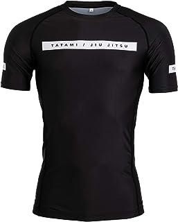Tatami Fightwear Rival Black & Camo Short Sleeve Rash Guard - Black | Gym, Workout, Jiu Jitsu, Grappling, BJJ, MMA