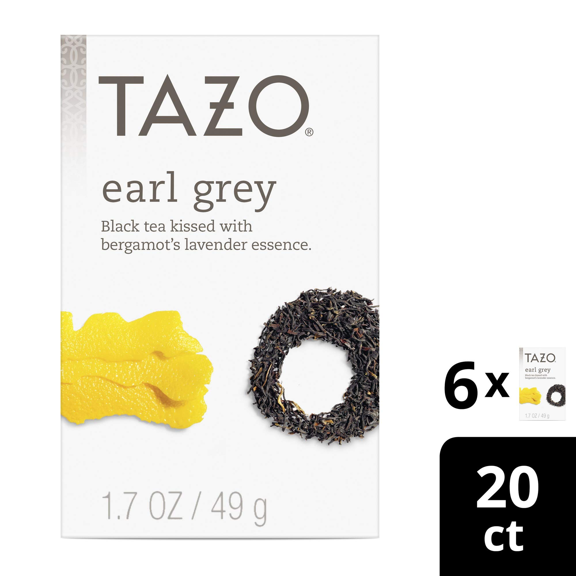 Tazo Earl Black Filterbags Count