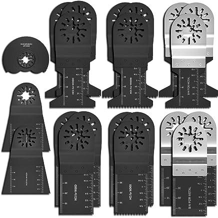 Paquet de 50 lames de scie oscillantes universelles /à m/étal//bois//clous en fer au Dewalt au Rockwell au fabricant Bosch au Fein Multi au c/âble porteur