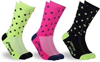 Mens Cycling Socks Running Socks Athletic Socks Ankle Sport Socks for Men 6-11