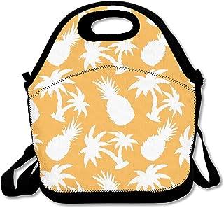 MAGGIE SALAS Coconut Palm Trees And Pineapples Winter Bag Lunch Bags Bags Travelling Bag Picnic Bag Storage Bag Backpack For Children Diagonal Bag Handbag