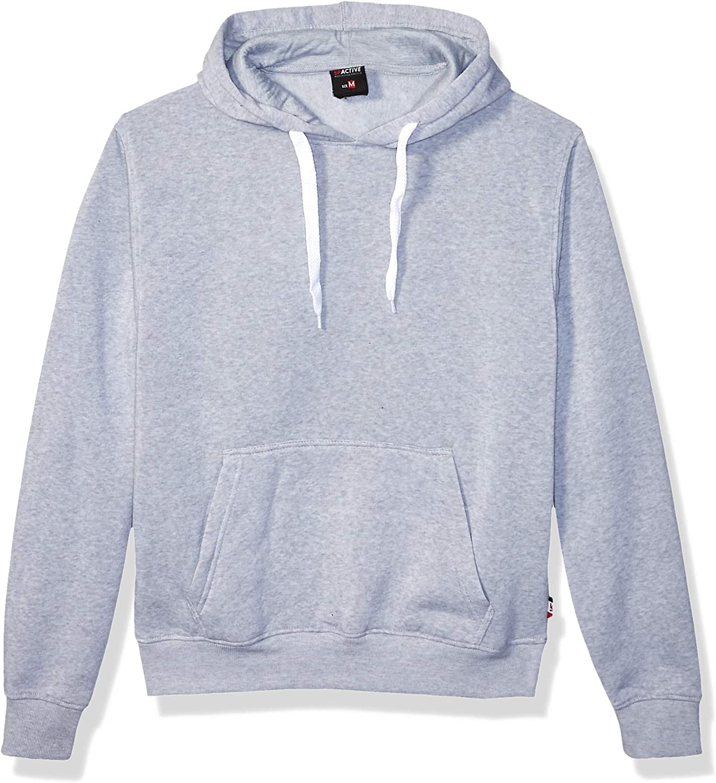 Southpole Mens Active Basic Crew Neck Fleece Pullover In Premium Fabric Sweatshirt