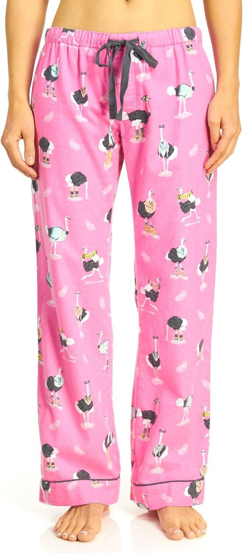 PJ Salvage Ostrich Flannel Pajama Pants