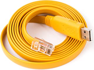 ,5-GND Green 3-TXD 2-RXD ,8-CTS Yellow Brown 7-RTS , 1//4//6//9-NC Orange GND USB Serial db9 ft232r USB rs232 Null Modem Cable pc Control tv Cable