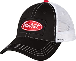 Peterbilt Motors Patch Color Trucker Snapback Mesh Cap