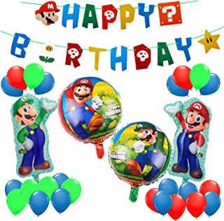 MOLECOLE Party bollons Mario2 MOLECOLE