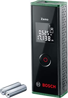 Bosch Home and Garden 0603672702 Láser de distancias 3a generación, Alcance 0.15 – 20m, en Caja, 1.5 V, Zamo