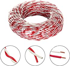 Wellite 22AWG Stranded Hook Up Wire Kit 300V Silicone Insulated Electric Wire Cable 6 Colors,19.7ft
