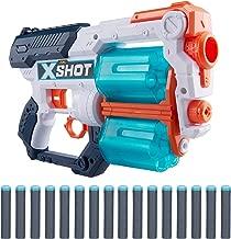 XShot Excel Xcess Foam Dart Blaster (12 Darts, 4 Cans) by ZURU