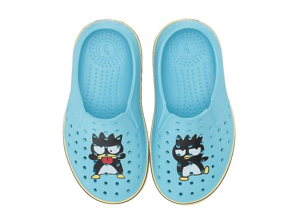 Native Kids Shoes Miles Print (Toddler/Little Kid) (Hamachi Blue/Gone Bananas Yellow/Batz) Kids Shoes