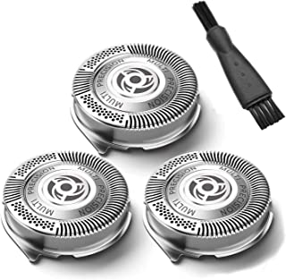 SH50/52 Shavers Replacement Heads for Philips Norelco Series 5000,6000 and PowerTouch& AquaTouch Electric Shavers(3 Packs)